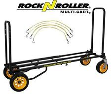 RocknRoller Multi-Cart R18RT Ground Glider Mega With Flex Straps, R18RT STRAPS