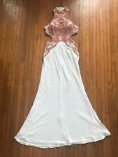 Womens Beaded Gown Prom Dress Size 4