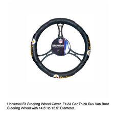 Northwest NFL Pittsburgh Steelers Car Truck Suv Van Boat Steering Wheel Cover
