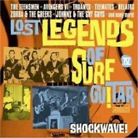 Various Artists - Lost Legends Of Surf Guitar: Shockwave [New CD]
