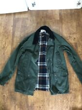 Green Barbour Jacket Coat Urban Outfitters XS