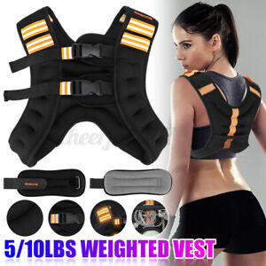 Weighed Vest Adjustable Running Weight Loss Training Exercise Fitness 20kg 50kg