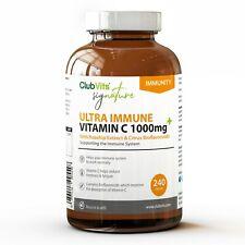 Firma Vitamina C 1000mg Con Escaramujo & Bioflavoniods 240 Tabletas