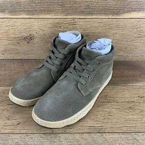 NIB Simple Barney Chukka Smoke Suede Shoes MEN'S SZ 9 US FAST SHIPPING
