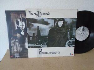 THE DAMNED - PHANTASMAGORIA UK MCF3275 1ST PRESS VINYL LP 1985 / INNER