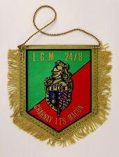 Fanion (pennant) militaire ♦ Escadron Gendarmerie Mobile 24/8 Charnay les Macon