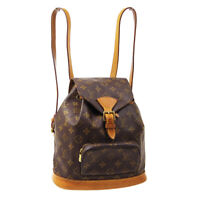 LOUIS VUITTON MONTSOURIS MM BACKPACK BAG SP0978 PURSE MONOGRAM M51136 40523