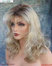 Becky Wig CUTE WAVY STYLE ROOTED BLOND RH1488RT8 NIB W/TAGS *