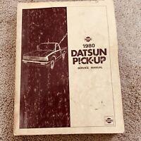 1980 Datsun Pick-Up Service Repair Manual Model 720 Series