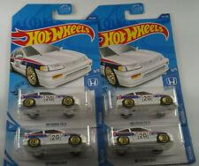 Hot Wheels '88 Honda CR-X White JDM Honda Crx NEW LOT of 4