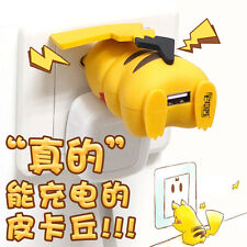 Hots Pokemon Pikachu Power Bank Portable Phone Battery  Charger  iPhone Android