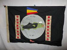 flag319 WW2 US Navy USS Picuda  submarine flag SS 382