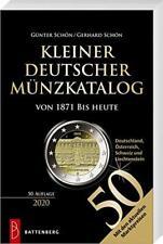 KLEINER DEUTSCHER MÜNZKATALOG 2020 Münzen Bewertung Katalog Buch Book Schön