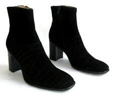 FREE LANCE Bottines boots Keyrie 7 tout cuir velours noir 37.5 38 NEUF BOITE