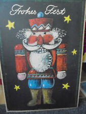 29318 DDR Plakat A2 Frohes Fest Dewag 1979 poster christmas