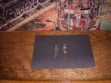 2 ORIGINAL PRE WAR AMERICAN FLYER O GAUGE HOOK STYLE COUPLERS  FOR PARTS USED