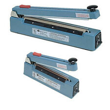 """12"""" Impulse Hand Sealer with Cutter Heat Seal Bag + Slide to Cut, 5 mm Flat Wire"""