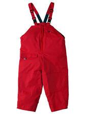 Abbigliamento traspirante rosso per bambini dai 2 ai 16 anni