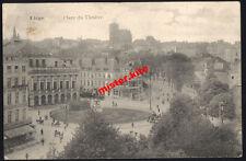 Liege-Lüttich-Landsturm-Belgien-Feldpost-1914-Place du theatre
