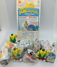 WHOLESALE LOT McDonalds Food Fundamentals CHANGEABLES Happy Meal 1993 w bag