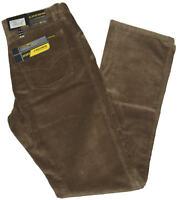 Pantaloni uomo jeans velluto coste taglia 46 48 50 52 54 56 58 60 62 beige CROWN