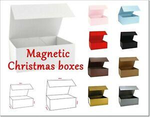 Luxury Premium Snap Shut Gift Boxeswith magnetic closureWedding Birthday Xmas