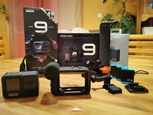 Pack GoPro HERO9 Black + Media mod + 3 Batteries + Factures