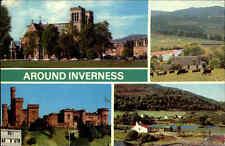Great Britain Postcard color más imagen-ak 1978 around Inverness Inglaterra postal