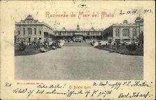 Mar del plata argentina argentina 1908 Bristol Hotel sello postal buenos aires