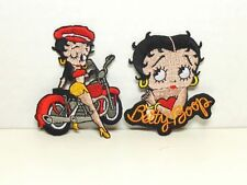 BETTY BOOP PATCH LOT #12 BIKER & LEANING ON HER NAME DESIGNS