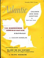 The Atlantic Magazine November 1963 Oscar Handlin GD 043017nonjhe