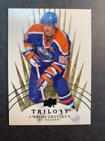 2014-15 Upper Deck Trilogy Base Legends #99 Wayne Gretzky Edmonton Oilers