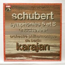 KARAJAN - SCHUBERT symphonies nos.5 & 8 EMI LP STILL SEALED