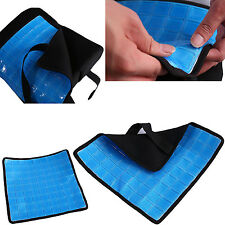Cooling Gel Pad for Memory Foam Back Cushion Lumbar Support Pillow Seat Chair