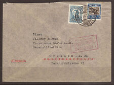 COLOMBIA. 1936. AIR MAIL COVER. BOGOTA TO DRESDEN. JOSEPH TRIP ENGINEERING
