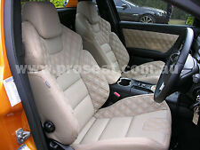 HSV VE GTS SEATS PAIR GENUINE ITALIAN LEATHER HOLDEN COMMODORE VT VX VY VZ VE
