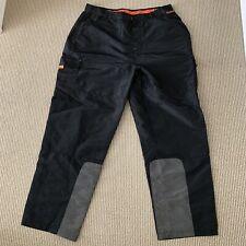 Vintage FUBU EXTREME SPORTS Baggy Nylon Cargo Pants Black Ski Snow XXL (35x31)