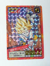 CARTE DRAGON BALL Z GT VERSION JAPONAISE BANDAI 1996 N° 705 PRISME
