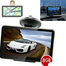 "4.3"" inch Car GPS SAT NAV Navigation Speedcam POI Free Update Lifetime Maps 8GB"