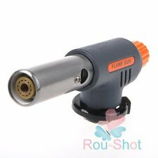 1300℃ Flame Butane Gas Torch Kitchen Baking BBQ Barbecue Cigarette Lighter Tools