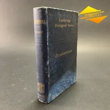 1909 'PALAEONTOLOGY - INVERTEBRATE' BY HENRY WOODS CAMBRIDGE BIOLOGICAL SERIES