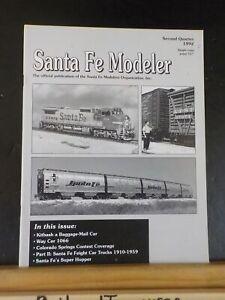 Santa Fe Modeler 1992 2nd quarter Way car #1066 Freight car trucks pt 2