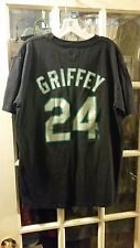 Ken Griffey Jr. Seattle Mariners Name & Number Tshirt Adult L Opening Day Junior