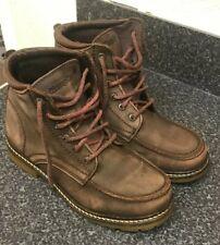 Wrangler UK 5 Dark Brown Burgundy Ankle Chukka Nubuck Walking Shoes Hiking