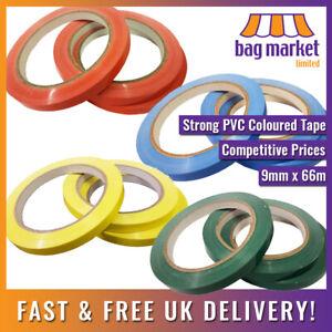 9mm x 66m Strong Vinyl Sealing Tape!!   Butcher/Neck Sealer/Food Bag/Fruit/PVC