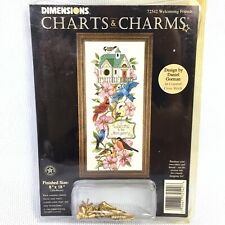 Dimensions Charts Charms Welcoming Friends Bird House Counted Cross Stitch 72542