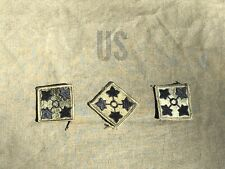 Vietnam or post war GI issue subdued 24th ID Infantry OD unit patch ivy org vtg