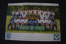 England Football Squad 1996/1997 Photocard