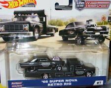 Hot Wheels 2019 TEAM TRANSPORT 1966 66 CHEVY SUPER NOVA GASSER w/RETRO RIG TRUCK