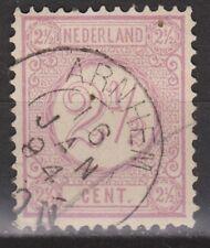 NVPH Netherlands Nederland nr 33 TOP CANCEL ARNHEM Cijfer 1876